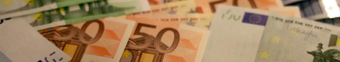 banner euros